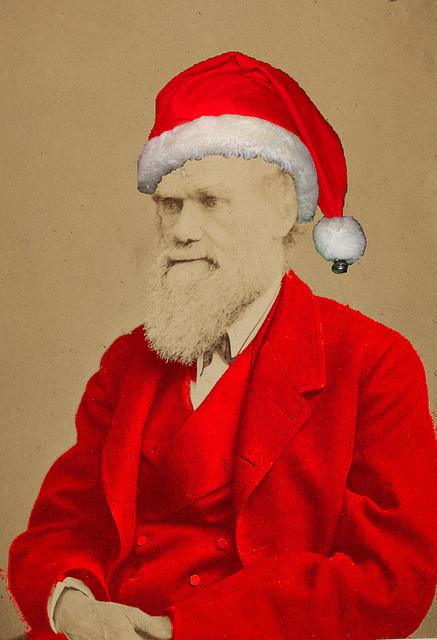 santa science - Santa And Jesus